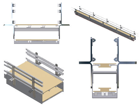 Table-top conveyor.