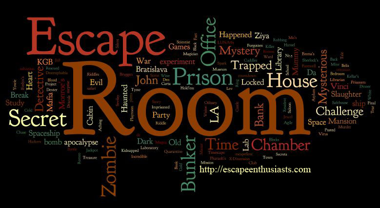 List Canada Escape Room