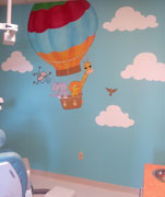 Pediatric Dentist mural