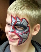 boys face painting