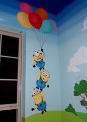 Disney playroom mural