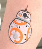 BB-8 painting