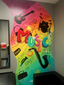 pediatric mural