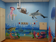 Emergency Room Pediatric Room mural