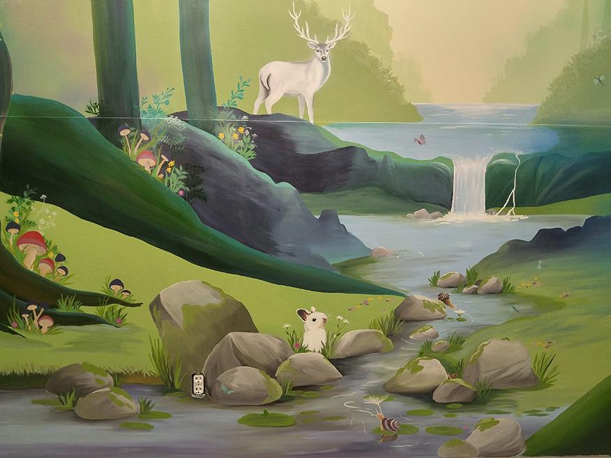 Safari Run Plano >> Commerical Murals - Leila's Art Corner - Face Painting ...