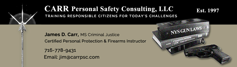 CARR Personal Safety Consulting, LLC
