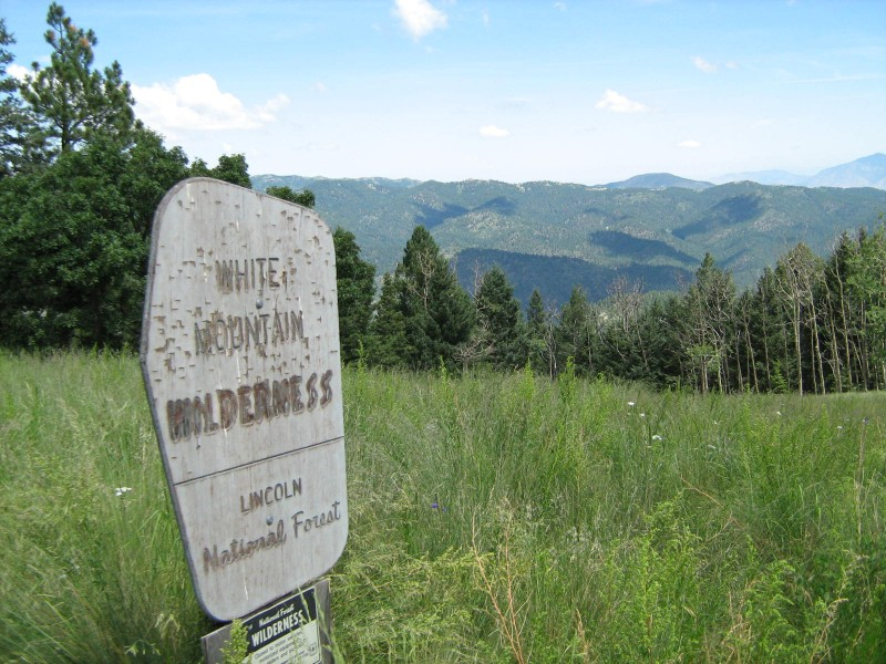 Lincoln National Forest White Mountain Wilderness Guided Hike