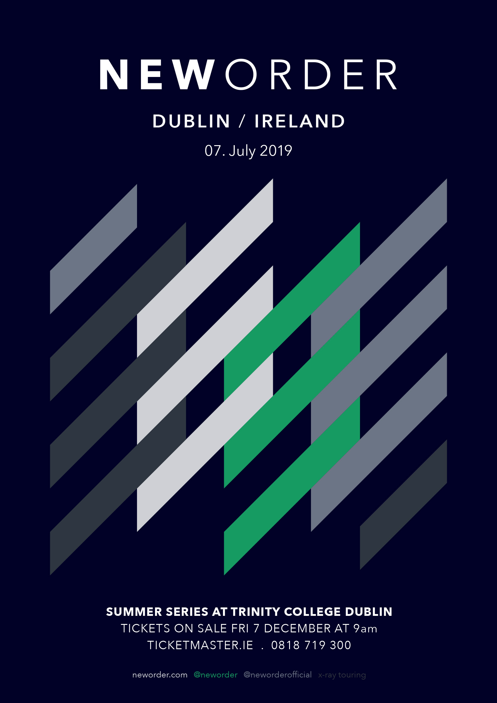 New Order - New Order - The Summer Series At Trinity College Dublin