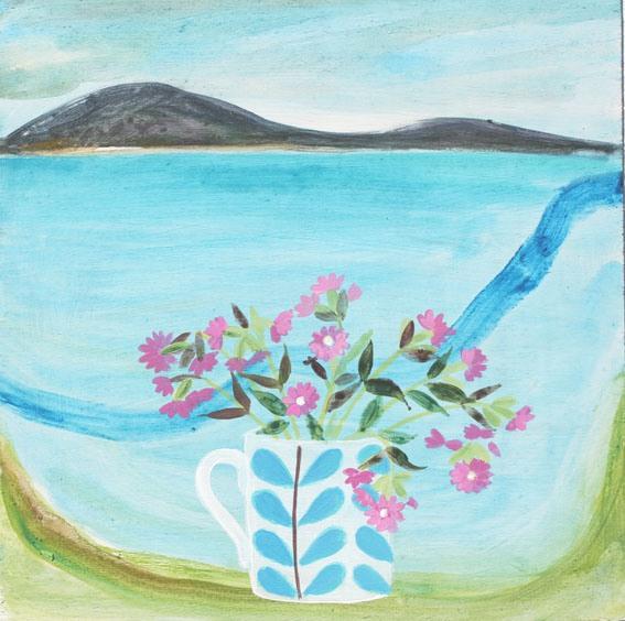 Jane Askey-英國美麗女畫家-令人驚嘆的花卉為靈感的繪畫作品。。。 - ☆平平.淡淡.也是真☆  - ☆☆。 平平。淡淡。也是真。☆☆ 。