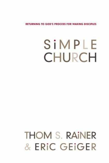 Rainer And Geiger Simple Church Book Summaries