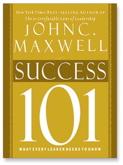 leadership 101 john maxwell pdf