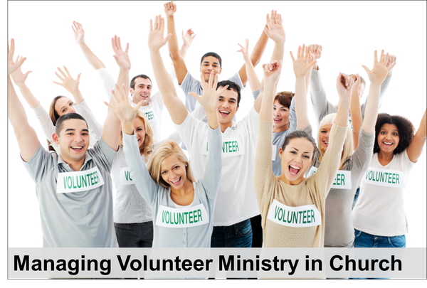 Managing Volunteer Ministry in Church