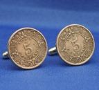 Einzelstück - Manschettenknöpfe aus Münzen 1