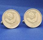 Einzelstück - Manschettenknöpfe aus Münzen 2