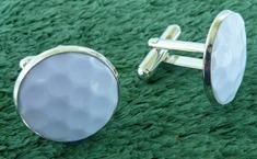 Einzelstück - Manschettenknöpfe aus Sportbällen  (6)