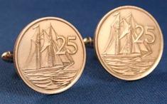 Einzelstück - Manschettenknöpfe aus Münzen 3