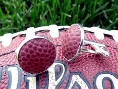 Einzelstück - Manschettenknöpfe aus Sportbällen  (4)