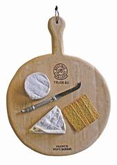Einzelstück - Käsebrett aus alten Weinfässern 2