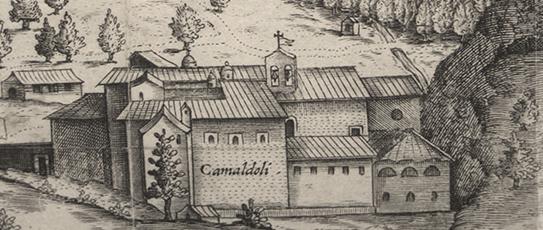 Camaldoli - Alter Stich vom Kloster