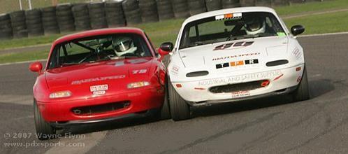Spec Miata Road Racing Class backed by WCMA