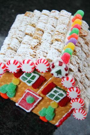 Graham Cracker Gingerbread Houses Blog Homeandawaywithlisa