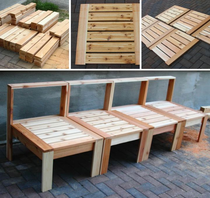 how to build outdoor furniture