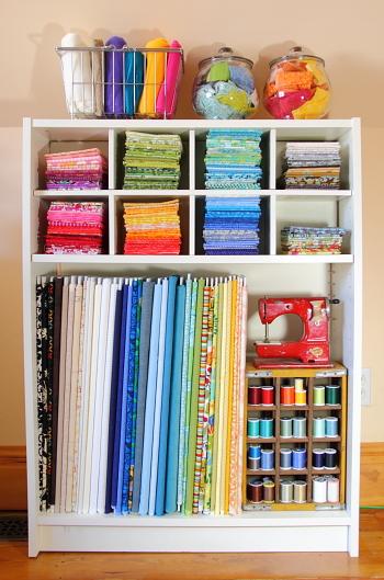 Fabric Organization For My Craft Room Blog