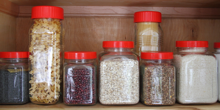 Kitchen Jar Organization Blog homeandawaywithlisa