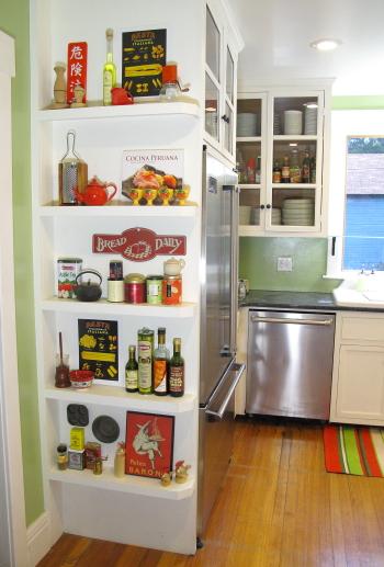 Superbe Kitchen Display Shelves
