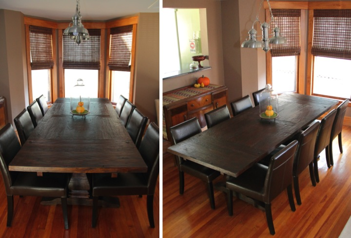 I Couldnt Be Happier About The Table And It Was Worth Wait To Get Exactly What Wanted Just Need Make Up An Excuse Have A Dinner Party Now