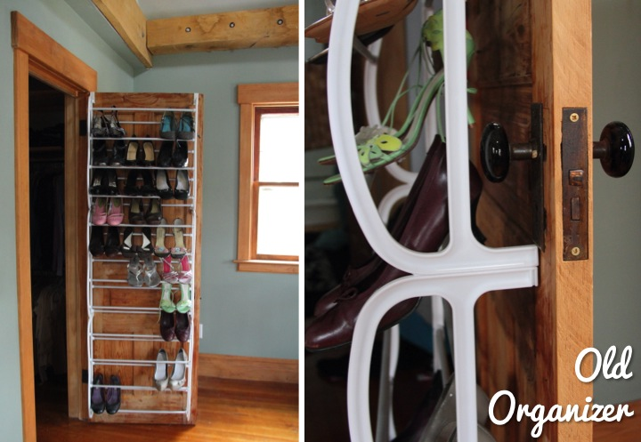 Diy crown molding closet shoe organizer for heels blog several months ago on pinterest i pinned an image of crown molding on a wall for hanging heels from an article on houzz thinking it would make a great solutioingenieria Choice Image