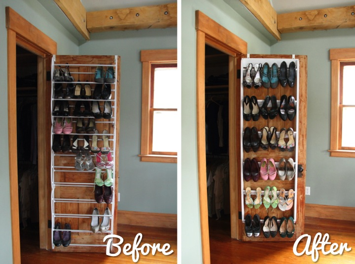 DIY Crown Molding Closet Shoe Organizer For Heels   Blog    Homeandawaywithlisa
