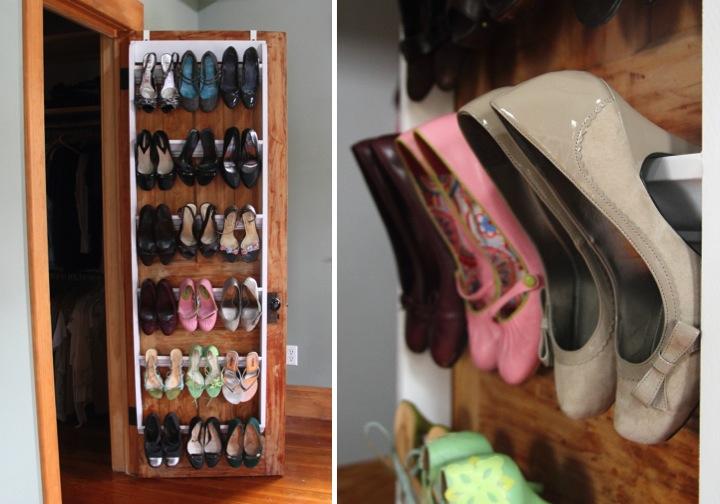 Building A Closet Shoe Organizer
