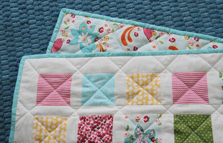 Doll Bed with Bedding & Patchwork Quilt - Blog - homeandawaywithlisa : doll quilt - Adamdwight.com