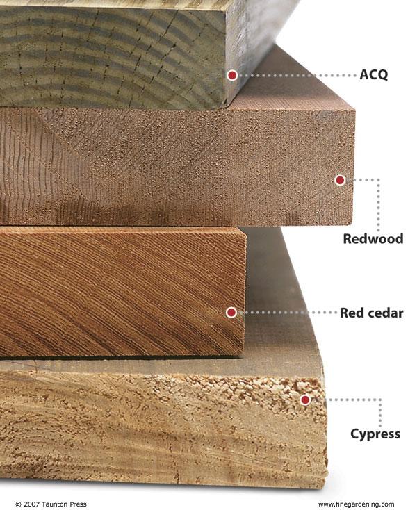 9 Wood Species Best for Outdoor Projects  TableLegsOnline