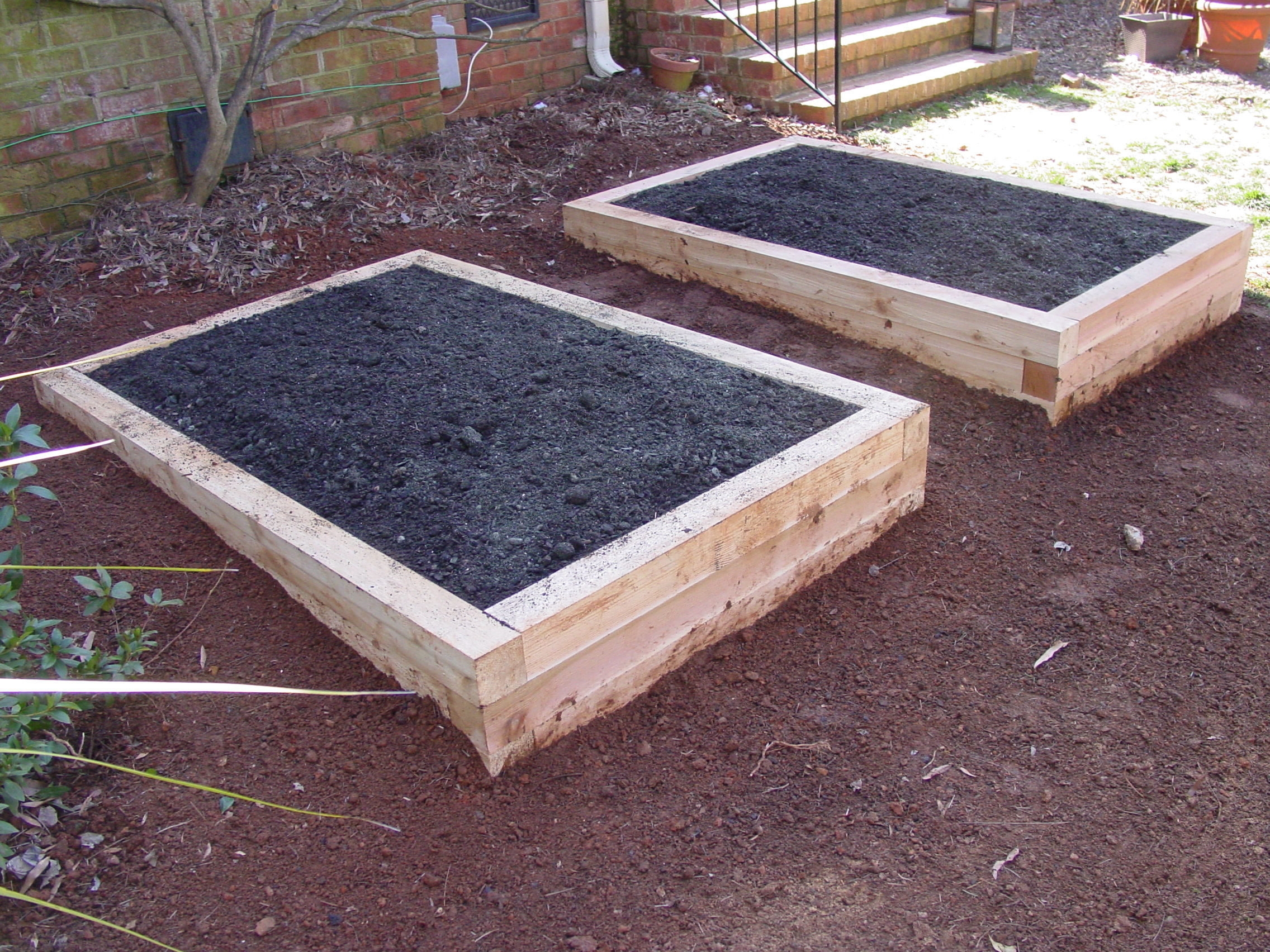 for how square using intro boards garden raised beds rather bed covered build cedar to a