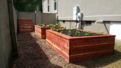 Elegant Efficiency : Brenda Gaisor's Organic Garden ... on indoor compost, outdoor compost, organic compost, fence compost, mulch compost, farm compost, lawn compost,