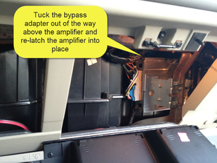 Sha bypass factory amp crossover in chevy tahoe