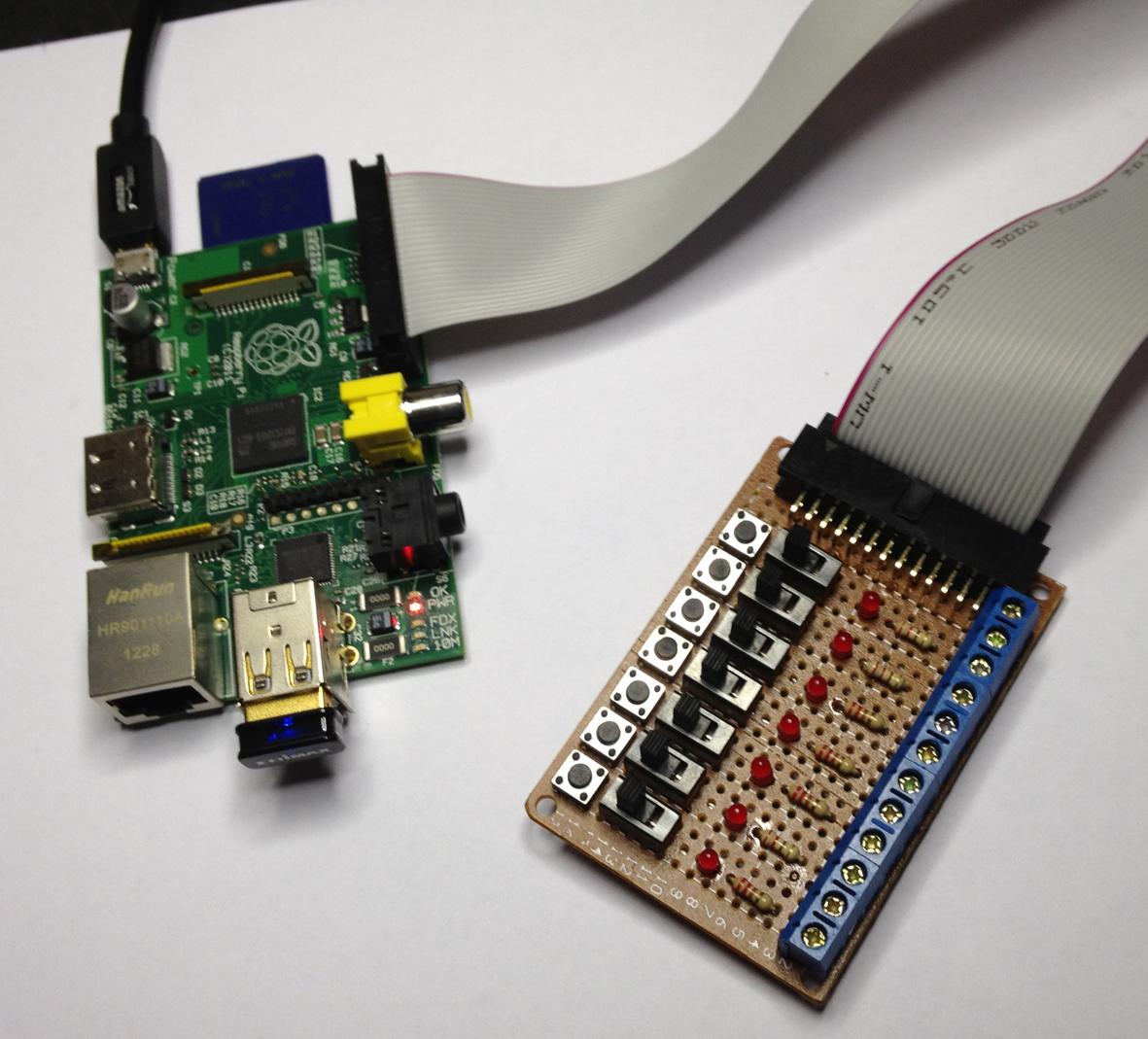 Raspberry Pi Serial Breakout Board Circuit Diagram Click For A