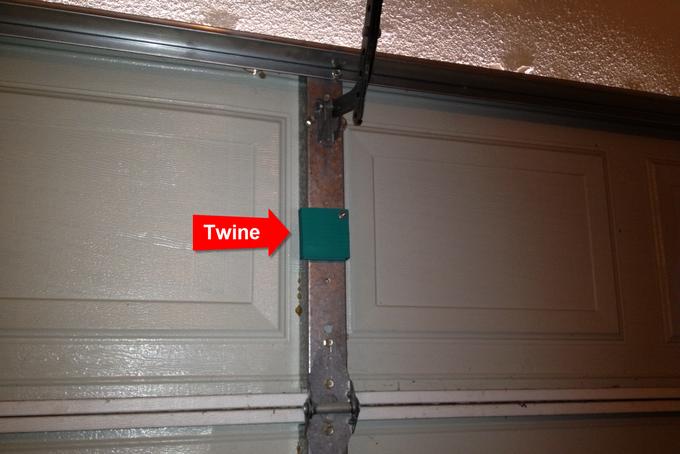Sha Twine Garage Door Monitor