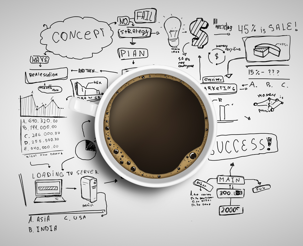 Creativity in business coffee