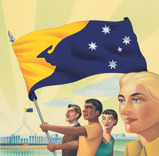 essay on why the australian flag should be changed