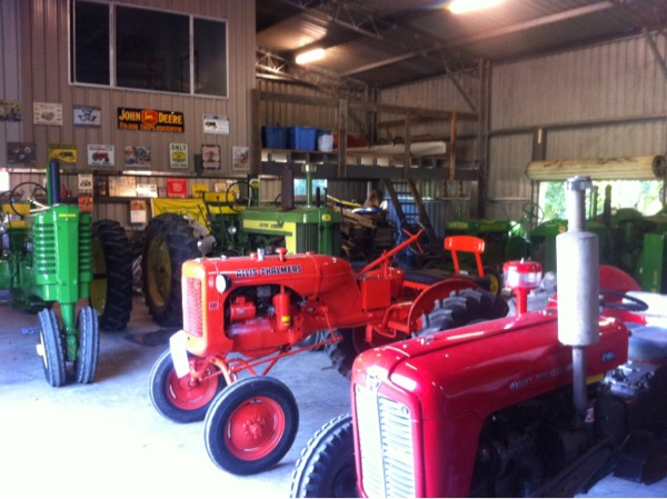 The Tractors Antique Tractor Shed : Two cylinder vintage home tractors john