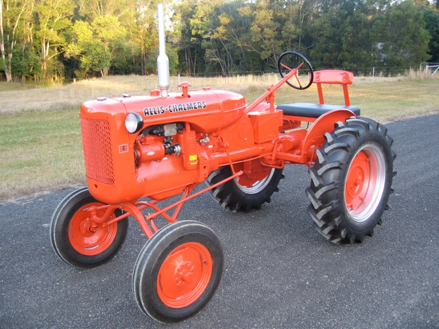 Allis Chalmers B Paint Color