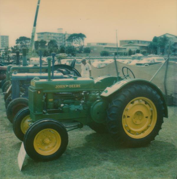 Antique John Deere Show Tractors : Two cylinder vintage home tractors john