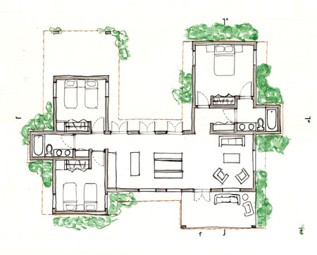 Housing design proposal haiti utk blog haiti utk H shaped house floor plans