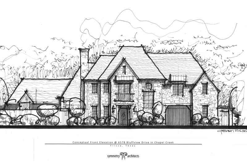 SYMMETRY ARCHITECTS Custom Residential Design Whats Cookin - Whats my elevation