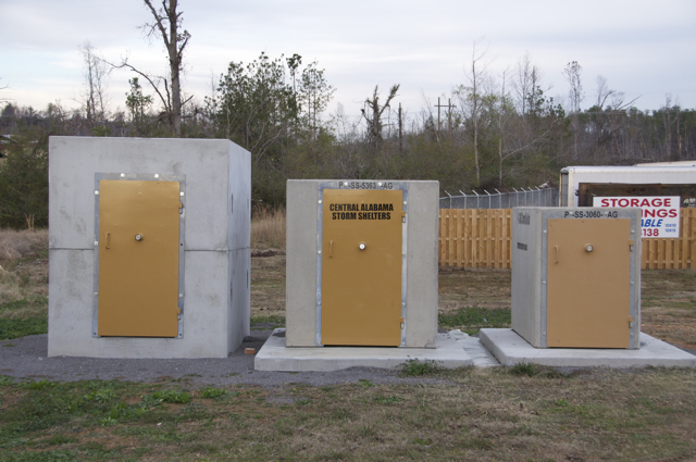 Central Alabama Storm Shelters Precast Concrete Storm