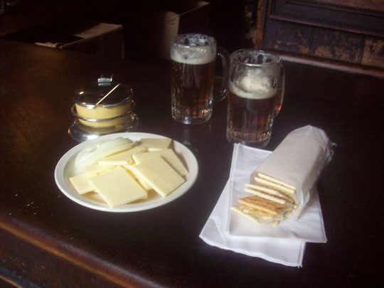 And here it is the cheese and crackers plate. Ta-da! (To quote Biff!) & trippingwithmarty - (Almost) Live From New York City! - A Cheesy ...