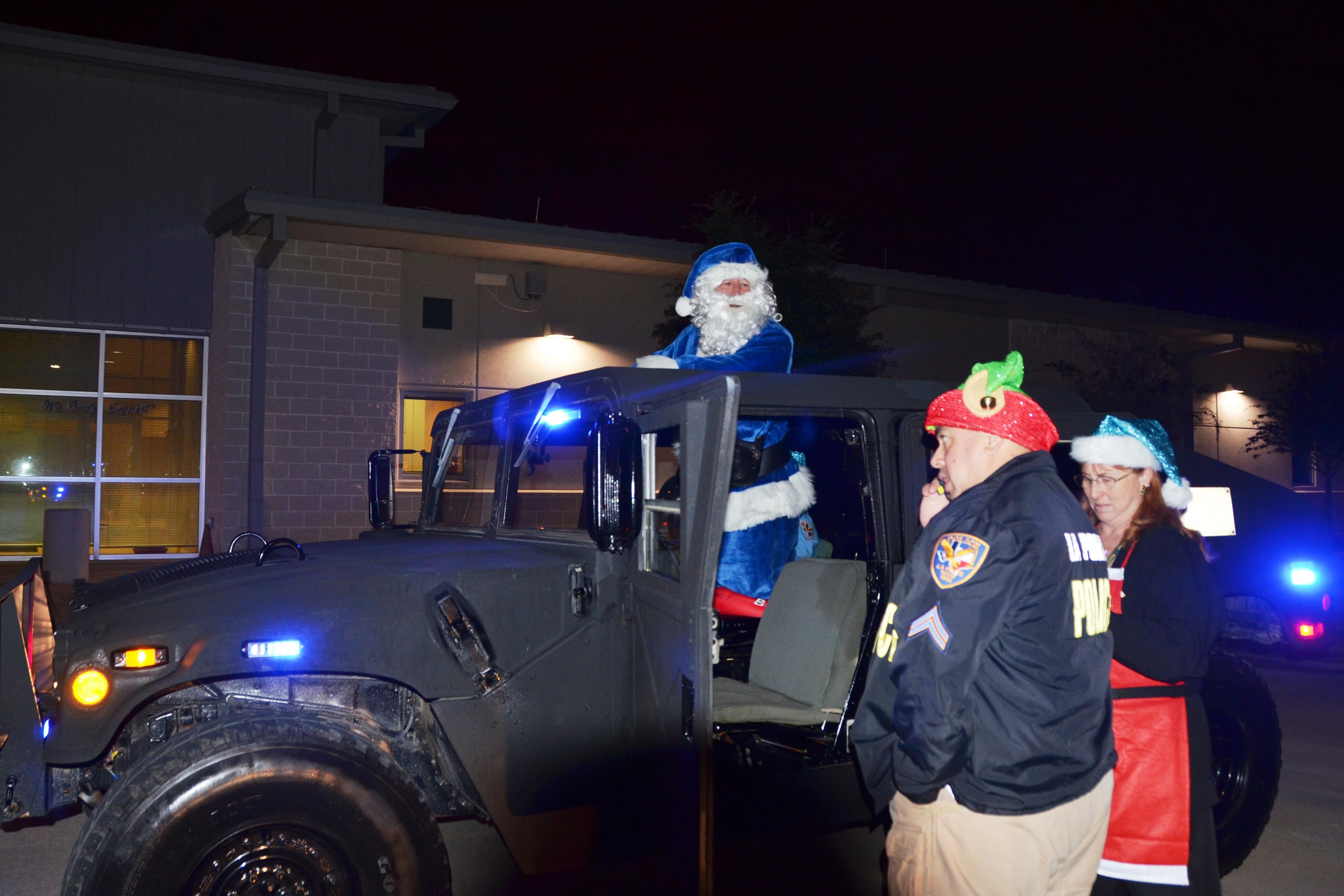 Lpcpaaa blue santa for La porte city jail